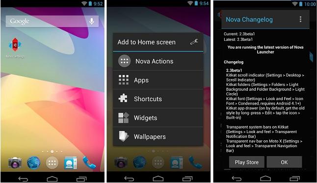 Wersja beta Nova Launcher upodabnia się do Androida 4.4 KitKat z Nexusa 5