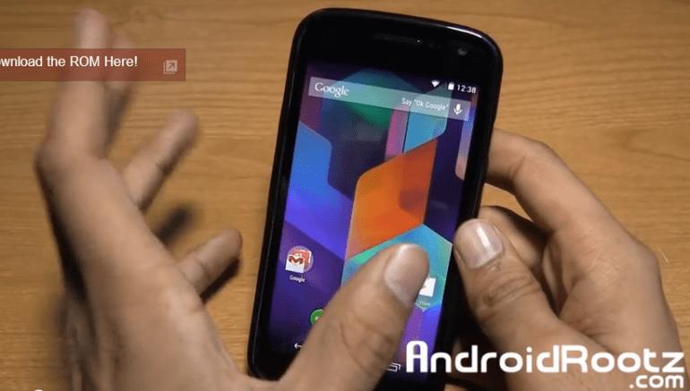 Samsung Galaxy Nexus jednak dostał Androida 4.4 KitKat! Nieoficjalnie...
