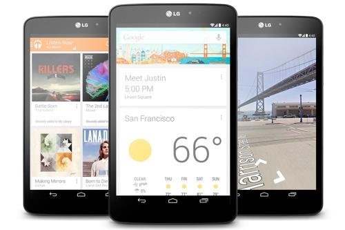 """Sony Z Ultra i LG G Pad 8.3 z """"czystym"""" Androidem. Jest też biały Nexus 7"""