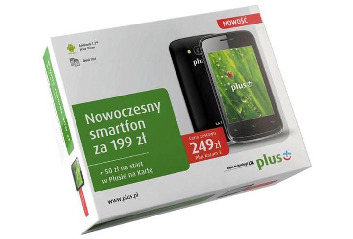 Nowy smartfon Plus Kazam 3 za 199zł w Plus na Kartę. Taniej się nie da?