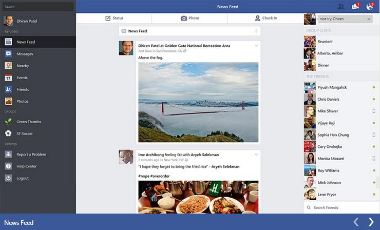 Facebook dla Windows 8.1 zaktualizowany. Pojawiła się możliwość edycji postów