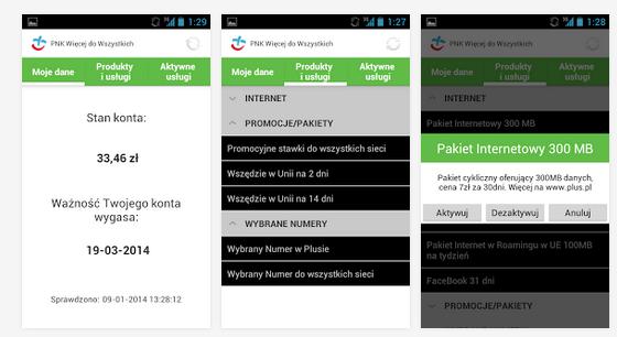 Plus GSM wprowadza aplikację na Androida do zarządzania kontem klientów prepaid
