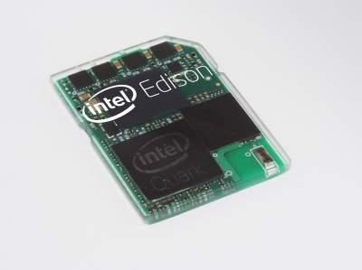 Intel Edison – w pełni funkcjonalny komputer wielkości karty SD.