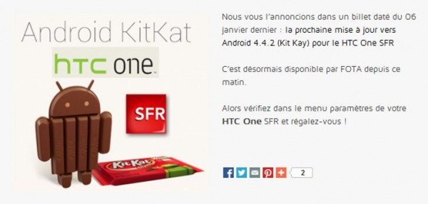 Android 4.4 KitKat dla HTC One jest już blisko Polski? Nie, to pomyłka...