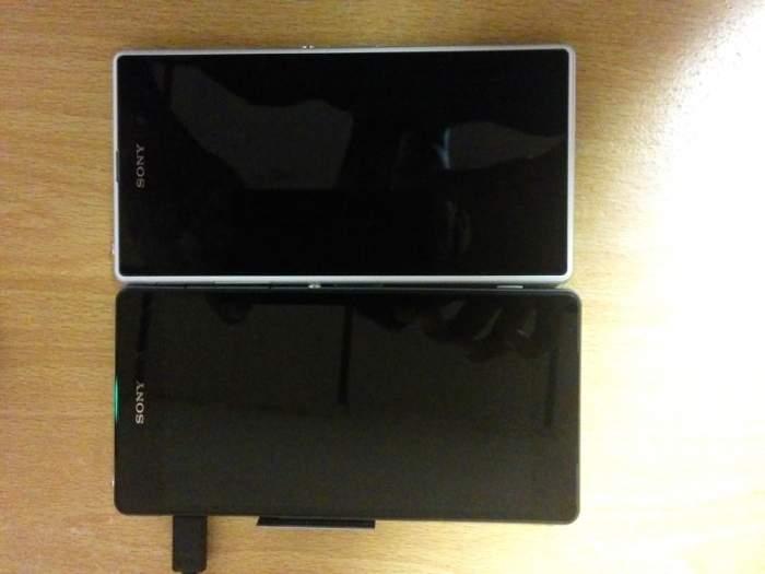 Sony Xperia Z2 Sirius obok Xperia Z1