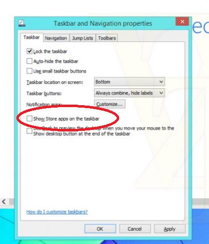 Windows 8.1 Update 1. Kolejne szczegóły dotyczące integracji Modern z pulpitem