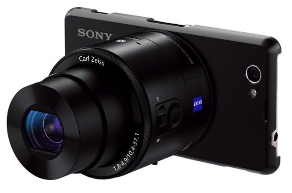 Sony Xperia Z1 Compact dostanie dedykowane etui obiektywom QX10 i QX100