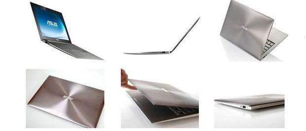 Pierwszy ultrabook - Asus UX21