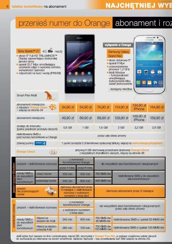 Orange zapowiada wprowadzenie do oferty Galaxy Grand Neo