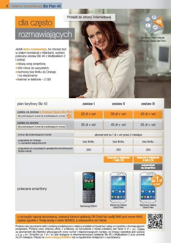 Samsung Galaxy Grand Neo w ofercie Orange
