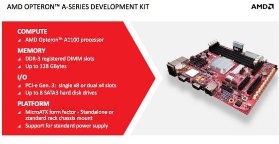 AMD przedstawia pierwszy układ SoC ARM - Opteron A1100