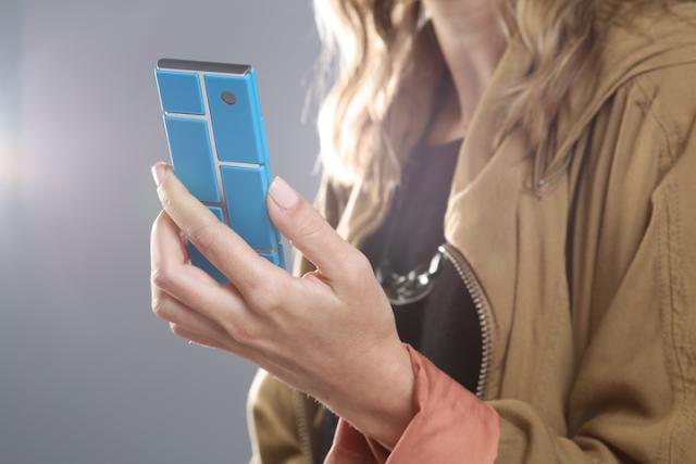 Koncept modularnego smartfona Motoroli