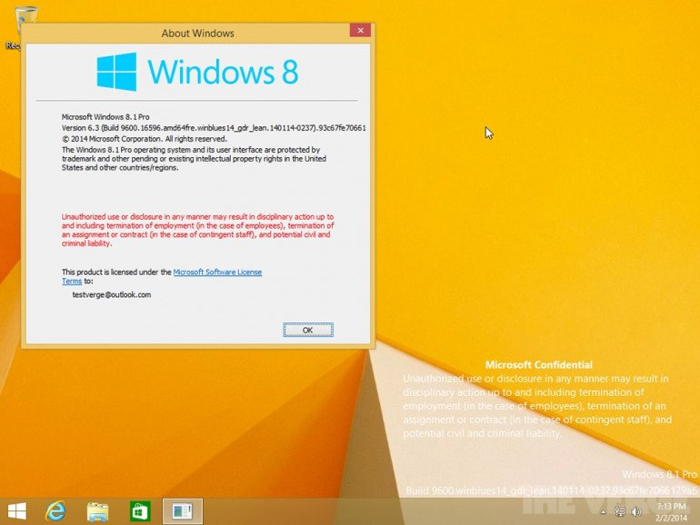 Windows 8.1 Update 1. Obraz systemu wyciekł już do internetu