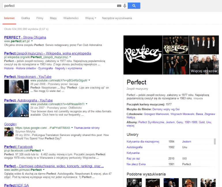 Klipy muzyczne z YouTube od teraz bezpośrednio w wynikach wyszukiwania Google
