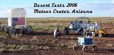 Pocztówka z Arizony - na pierwszym planie K-10 (źródło: Linuxdevices)
