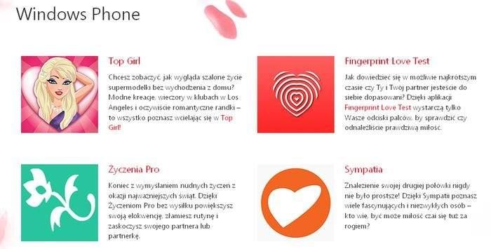 Propozycja Microsoftu na Walentynki