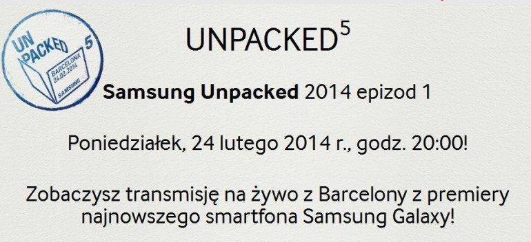 Samsung Galaxy S5 - RTV Euro AGD zaprasza na premierę. Sprzedaż ruszy na przełomie marca i kwietnia