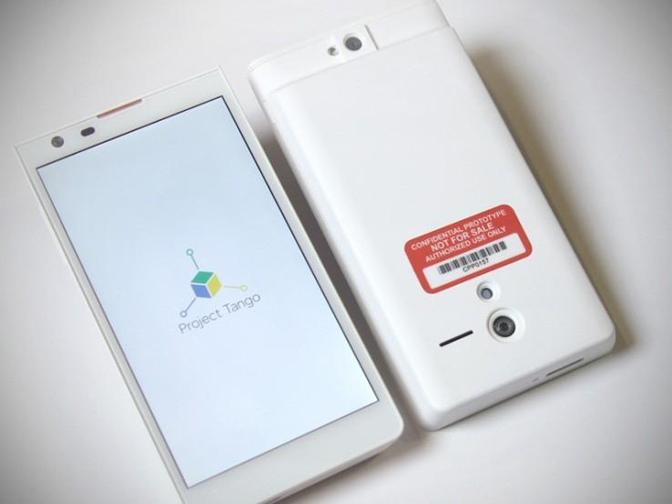 Google Project Tango - smartfon z funkcją mapowania 3D. To zapowiedź świetnej zabawy!