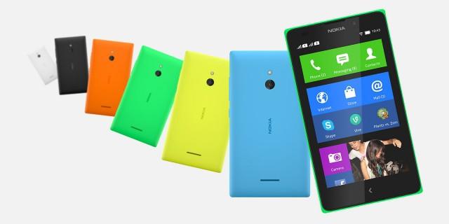Nokia przedstawiła smartfony z Androidem - modele X, X+ i XL. Największy kosztuje 109 euro