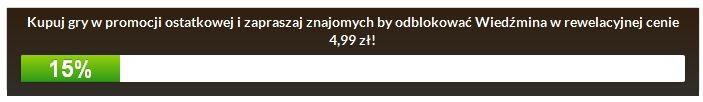 CDP.pl wyprzedaje gry za 5 złotych. Możesz kupić np. grę Wiedźmin: Edycja Rozszerzona