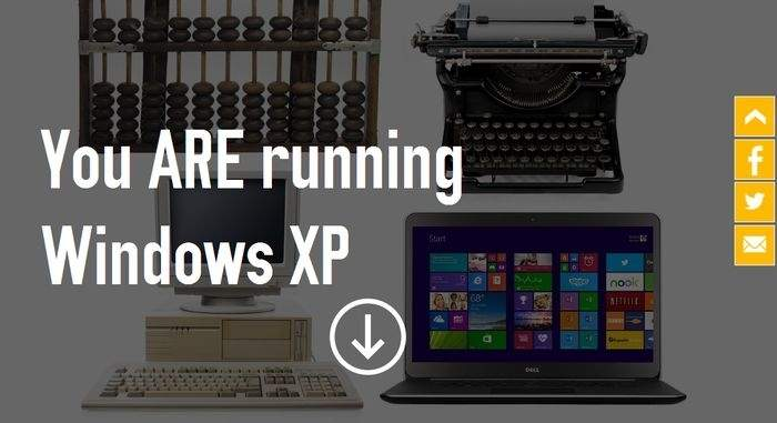 Microsoft pomoże sprawdzić, czy pracujesz pod Windows XP