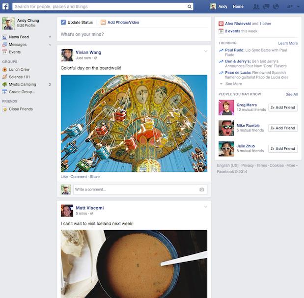 Facebook prezentuje kolejną aktualizację Newsfeeda