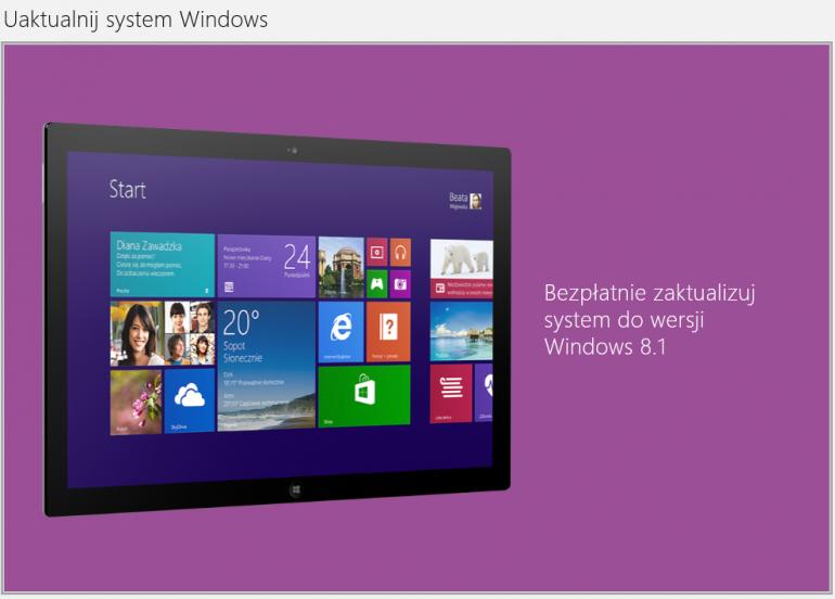 Pojawił się Windows 8.1 Spring Update również dla wersji RT