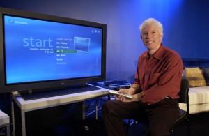 Jim Allchin prezentuje Windows XP Media Center