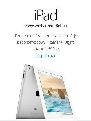 Apple iPad z ekranem Retina