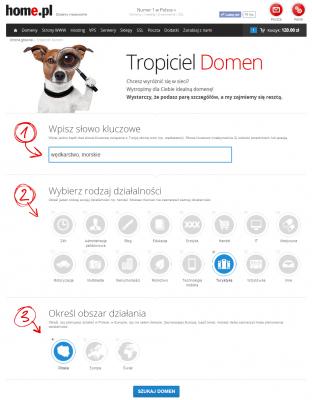 Tropiciel domen (https://home.pl/tropiciel-domen) to nowe narzędzie, które ułatwia znalezienie ciekawej i wolnej nazwy domeny.