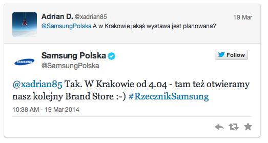 Kolejny Samsung Brand Store zostanie otwarty w Krakowie