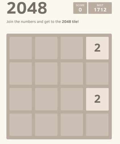 Gra logiczna 2048 naprawdę wciąga