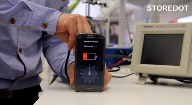 Prototypowa ładowarka StoreDot naładuje Twój smartfon w 30 sekund