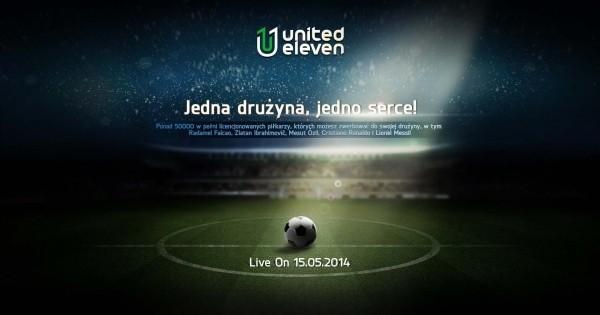 Ponad 50.000 zawodników czeka na miłośników futbolu w United Eleven
