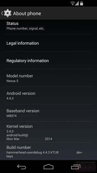 Android w najnowszej wersji oznaczonej 4.4.3 KitKat pojawia sięw sieci