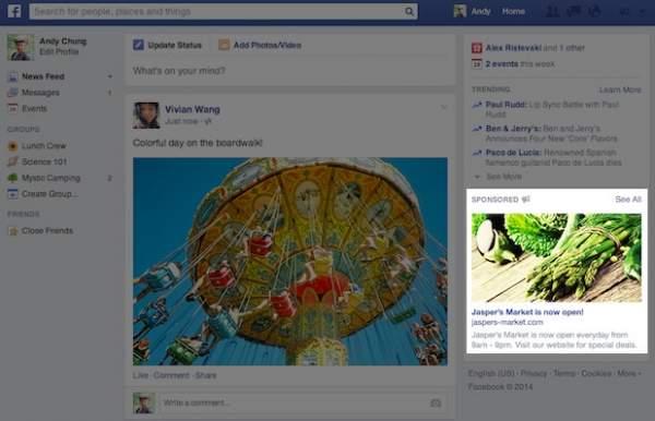 Facebook z nowymi reklamami