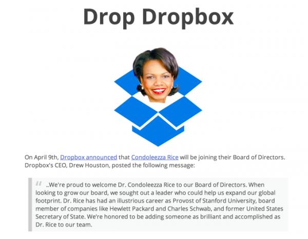 Drop Dropbox