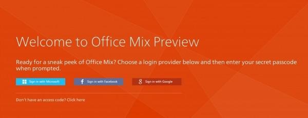 Office Mix - kolejne rozwinięcie pakietu Microsoftu