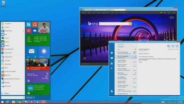 Menu Start do Windows 8.1 może powrócić już na jesieni