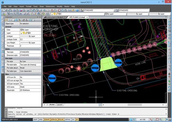 nanoCAD 5.0 - funkcjonalny program CAD za darmo!