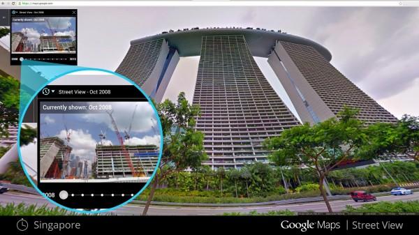 Street View umożliwi podróż w czasie