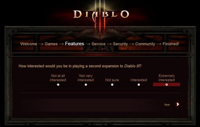 Blizzard pyta, czy chcecie drugiego dodatku do Diablo III