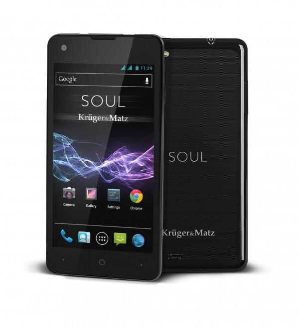 Kruger&Matz prezentuje nowości: smartfon SOUL, wieże stereo i telewizory