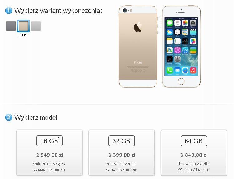 Apple przyspiesza MacBooka Air i obniża jego ceny. Teraz iPhone 5S 64 GB jest droższy