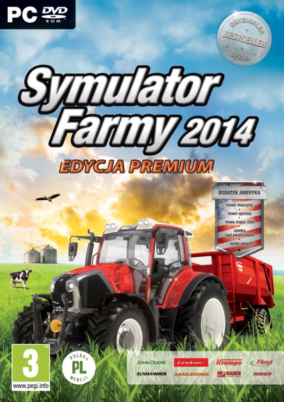 Symulator Farmy 2014 oraz dodatek Ameryka już 15 maja