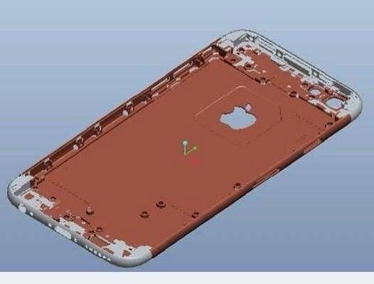 Apple iPhone 6 wycieka w formie szkiców produkcyjnych. Wygląda na nich jak iPod