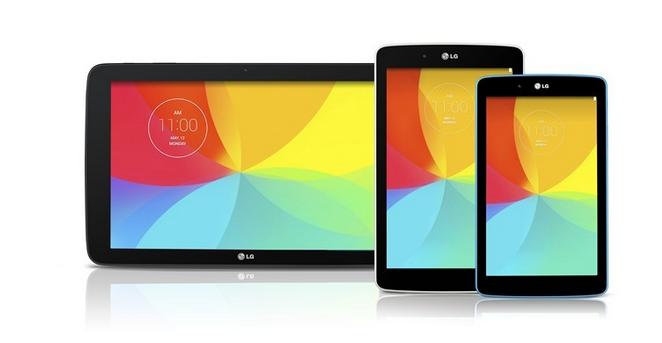 Przed premierąLG G3 koreańska firma prezentuje aż trzy nowe tablety
