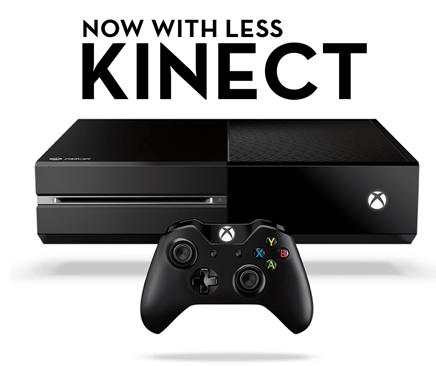 Debiutuje tańsza konsola Xbox One od Microsoftu pozbawiona kontrolera Kinect