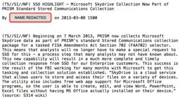 PRISM SkyDrive