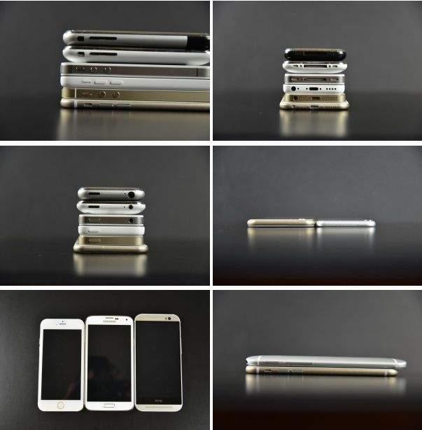 Apple iPhone 6 kontra poprzednicy